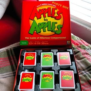 Apples to Apples Card Game
